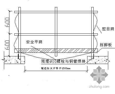 山东省某校园礼堂工程施工组织设计(泰山杯)