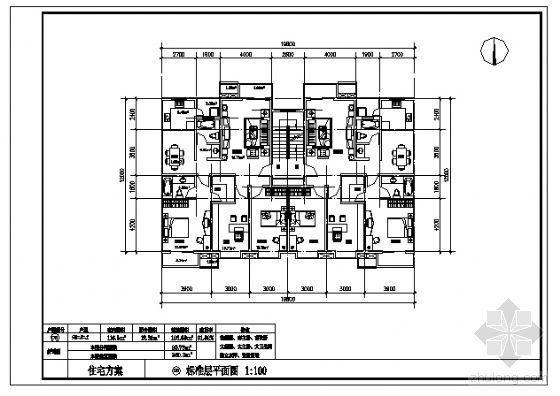 三室两厅两卫(126.88m2)