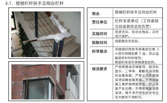 住宅精装修工程成品保护标准(多图)