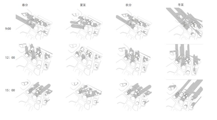 [浙江]休闲开放商业绿地景观概念设计-季节分析