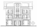 [四川]三层阶梯状别墅建筑施工图(含多套方案)