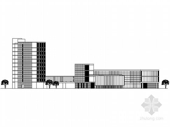 [上海]某十一层校区住宅楼建筑施工图