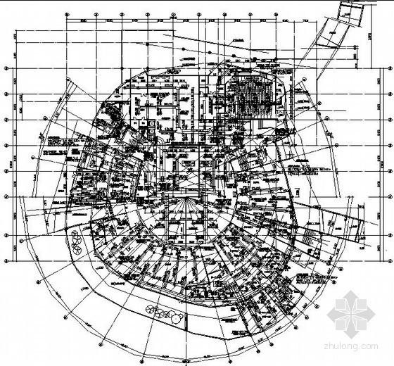 [江苏]图书馆空调通风设计施工图