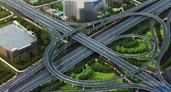 [河南]含BRT通道斜拉桥3座互通31处匝道13km城市快速高架工程设计图纸9711张