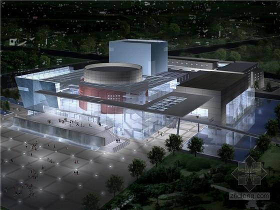 [广东]现代综合艺术中心建筑设计方案文本(含视线声学分析)