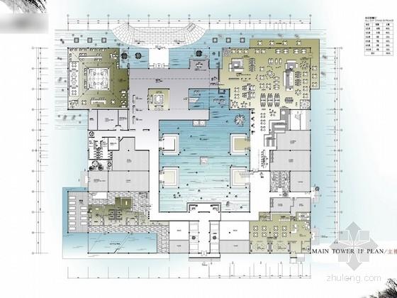 [云南]国家4A级旅游景区国际度假酒店概念设计方案