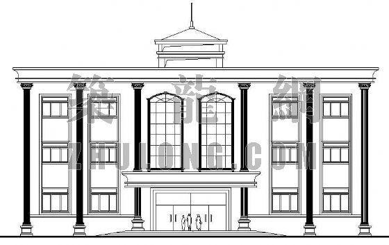 欧式小型办公楼方案