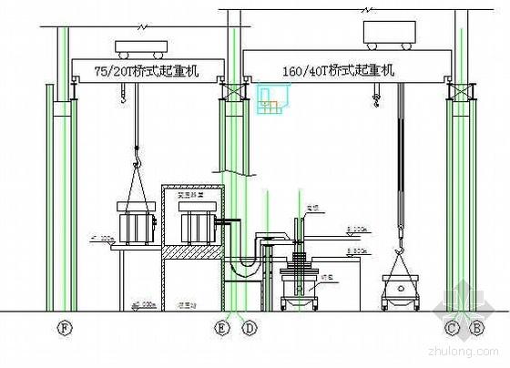 秦皇岛某钢厂LF精炼炉安装方案
