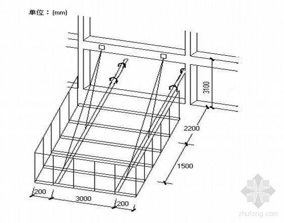 南宁某高层公寓槽钢悬挑卸料平台施工方案(有计算)