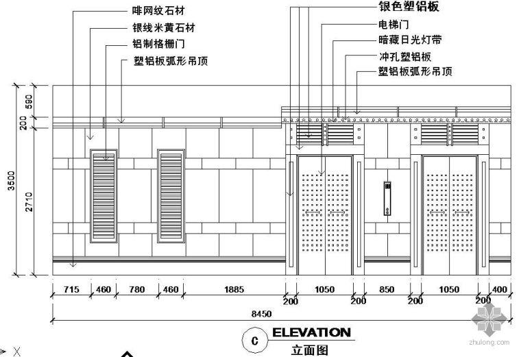 某电梯节点构造详图_1
