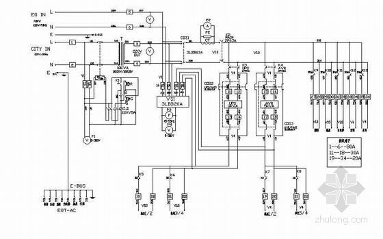 广播直播车电气控制图