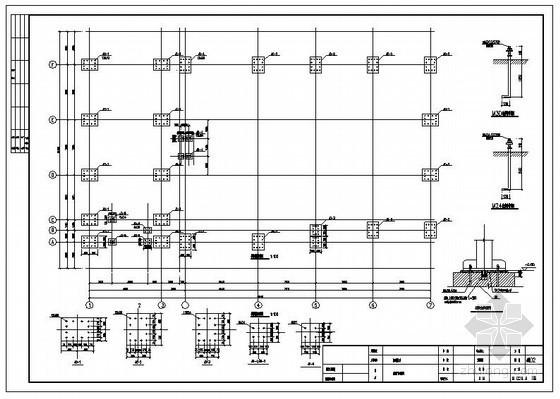 济南某办公楼改造钢结构设计图