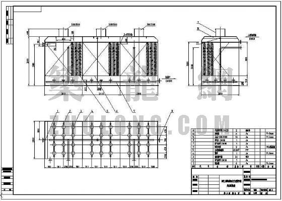 10T/H地埋式生活污水处理设备施工图
