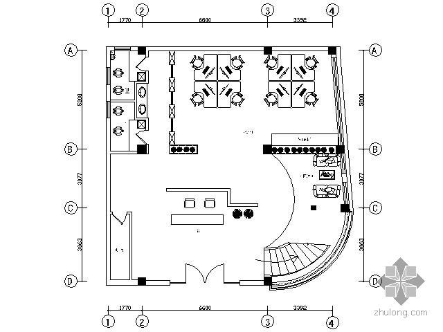[安徽]某三层办公空间装修图