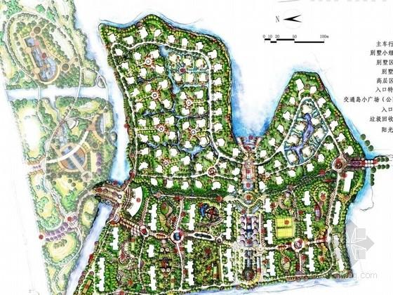 [昆山]居住区景观概念性规划设计方案