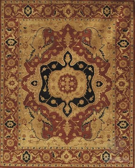 欧式花纹地毯