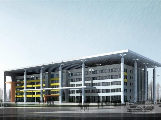[毕业设计]某大学图书馆方案设计(含CAD)