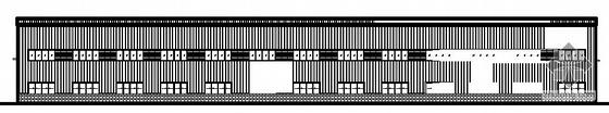 北京房山某15米跨钢结构厂房建筑施工图