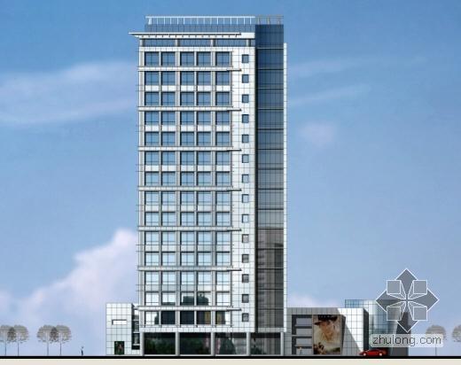 [北京]某房地产清华南路办公楼设计方案