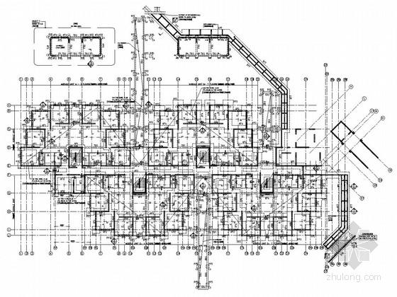 七层混合结构宿舍楼结构施工图