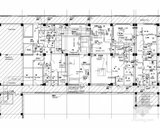 [广东]工业厂房及办公建筑通风空调及防排烟系统设计竣工图(无尘室设计 水冷空调系统)