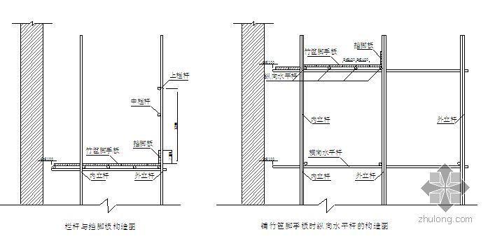 上海某纪念塔脚手架及升降机安装施工方案