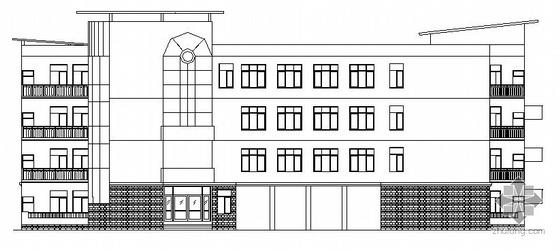[房屋建筑学课程设计]某中学楼设计方案