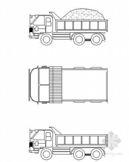 运土卡车示意图