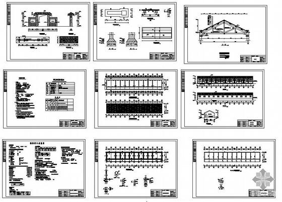某敬老院建筑结构图