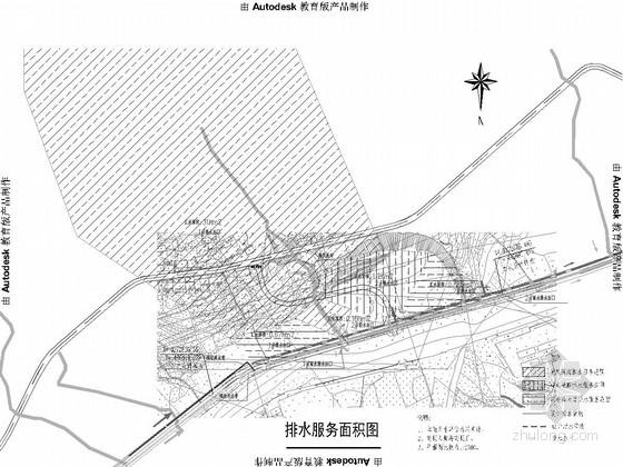 [重庆]市政道路排水设计图(2014年设计)