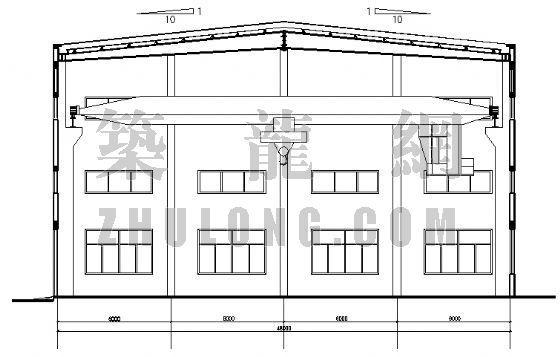 江苏常州一工业厂房[含结构图]