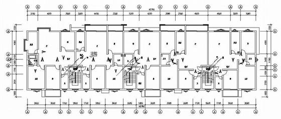 某六层商住楼电气图纸