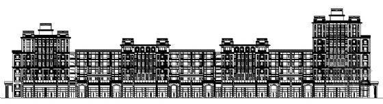 无锡长江国际花园某七层公寓楼建筑施工图