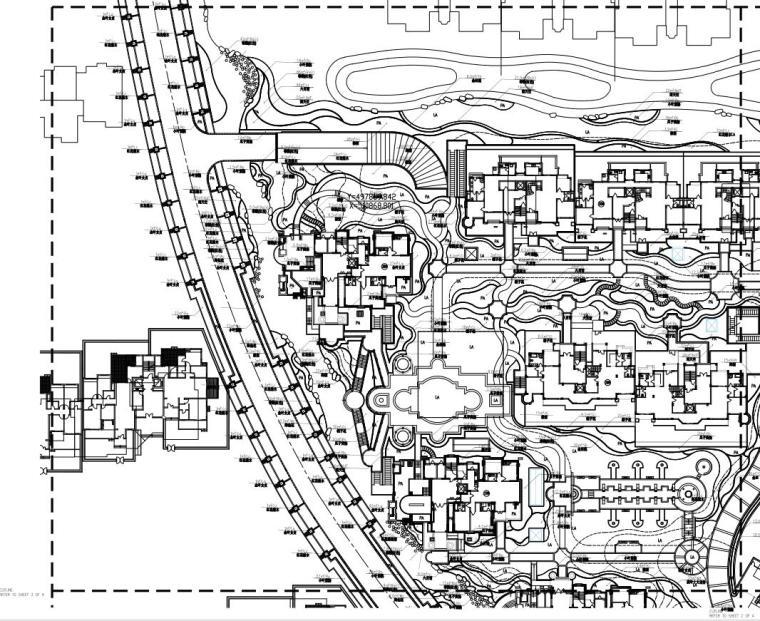 [江苏]常熟住宅项目景观施工图设计文本(包含CAD+87页)