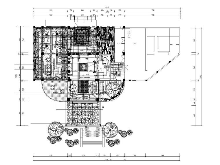 [东莞]某大型高尔夫会所内部装修全套施工图(含效果图)