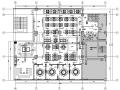 藏式餐厅室内设计施工图(含效果图)