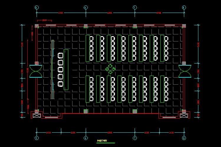 300多套CAD装修施工图纸(家装,工装,节点等)_15