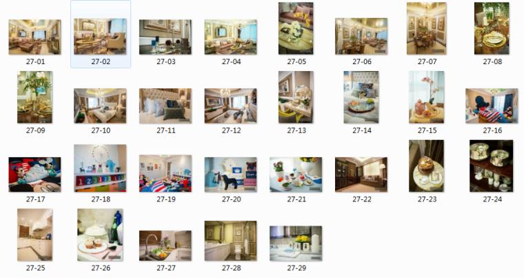 [杭州]欧式售楼处样板房住宅空间设计施工图(含效果图+实景图)_11