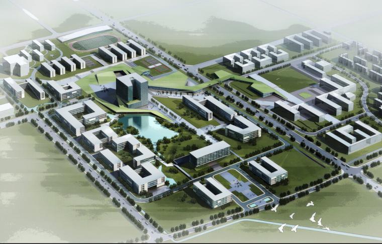 [四川]高层综合性大学建筑设计方案文本(CCDI设计院)