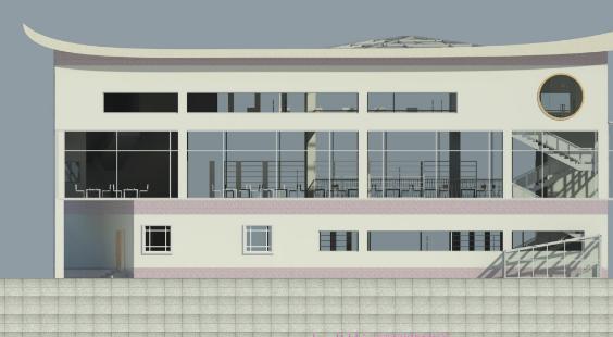 新疆昌吉州图书馆BIM设计