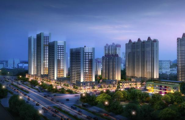 济南中海广场BIM项目
