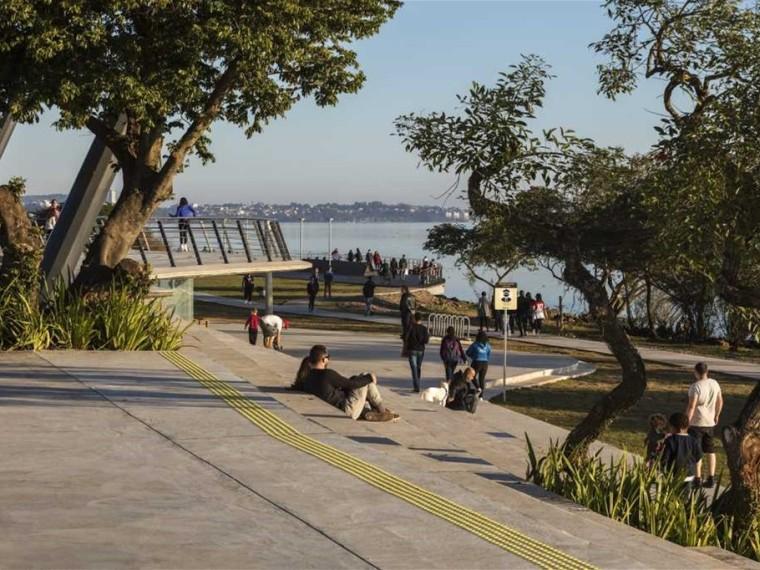 巴西阿雷格里港滨水公园