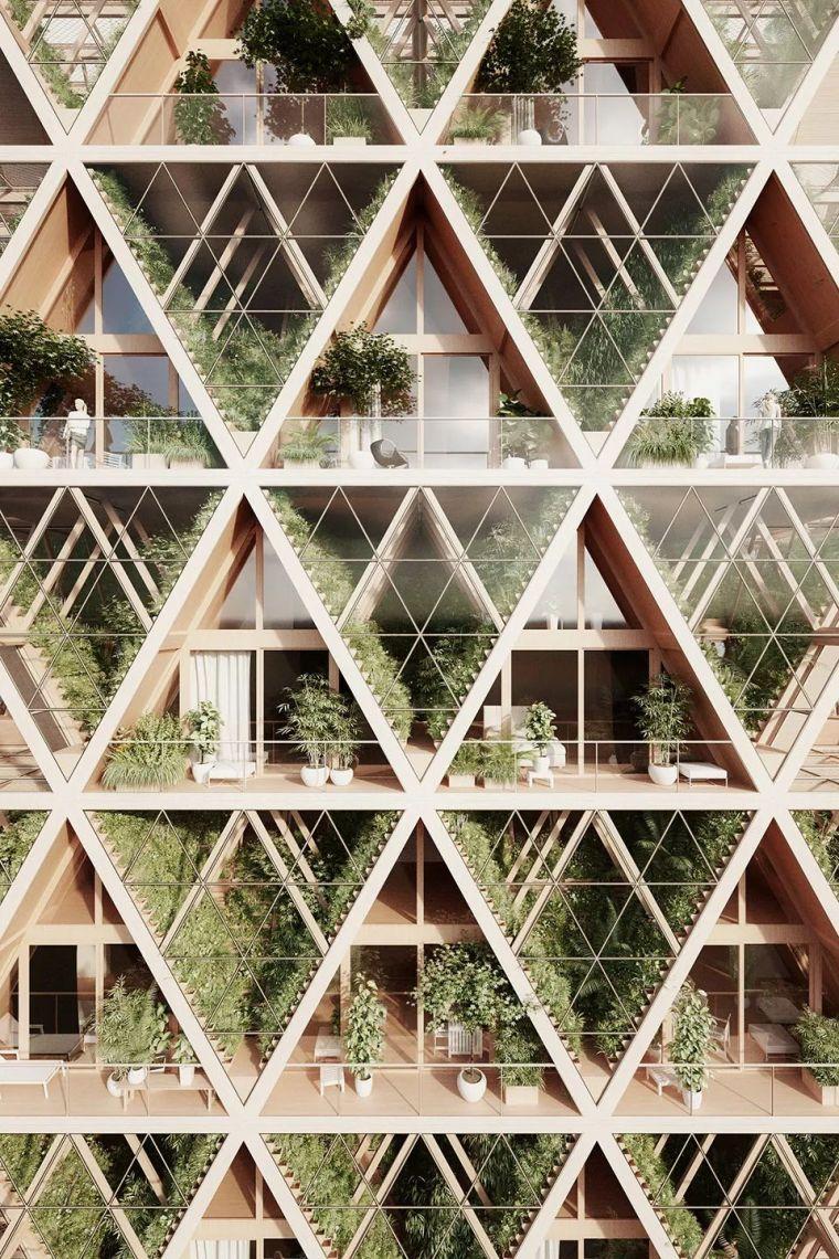 拥有独立生态系统的大楼-城市中的垂直农场_8