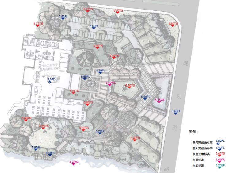 [苏州]金厦张家港梁丰生态园南侧地块展示中心概念方案设计B-2竖向分析