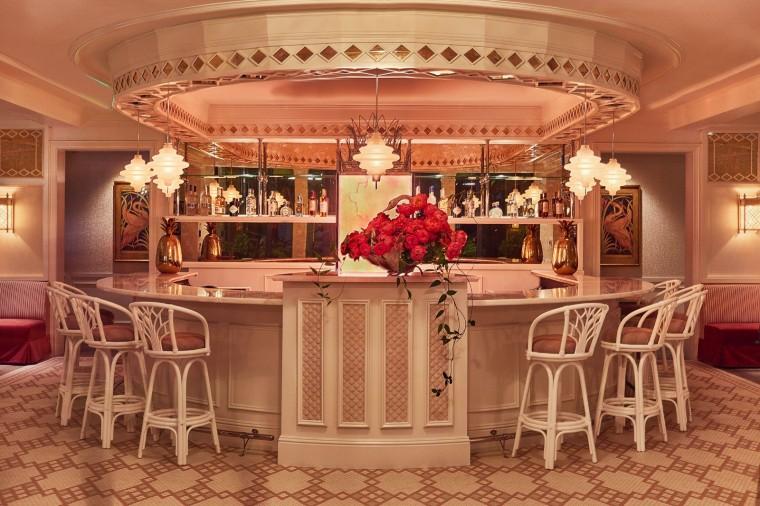 Ken Fulk 糖果色的迈阿密天鹅餐厅