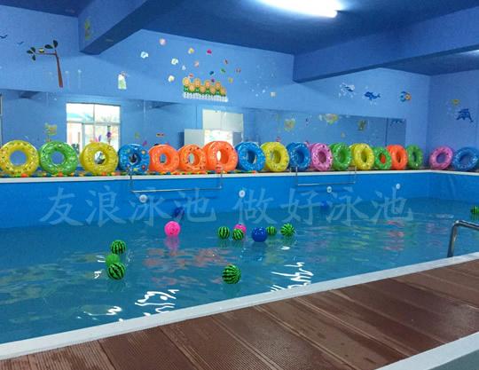 幼儿园儿童游泳池——为高端幼儿园定向开发