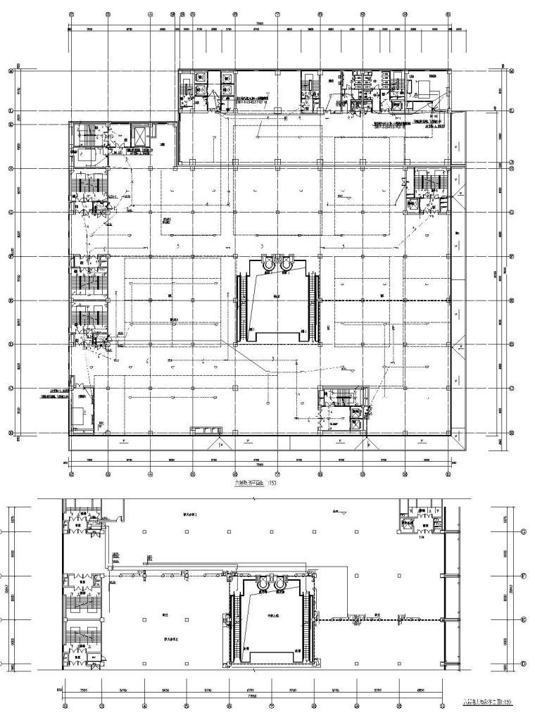 [河北]旧村改造商办楼电气施工图(含负荷计算表)