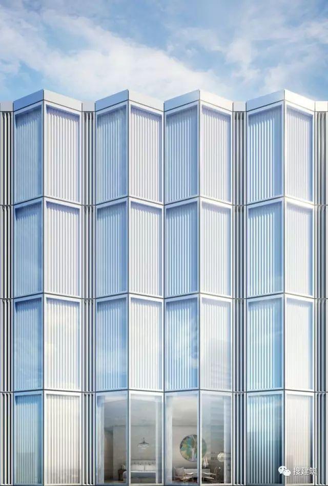 """万科在纽约开发的""""新地标住宅"""",高200米,1000-1600平方英尺的_6"""