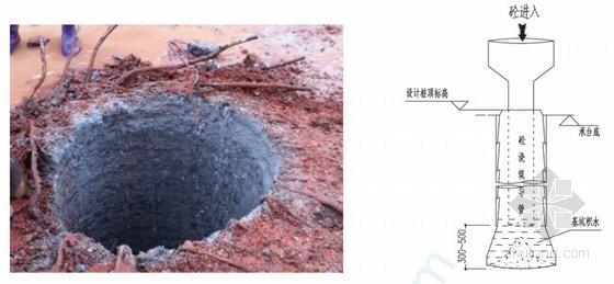 取芯补强法处理桩底砼离析施工技术