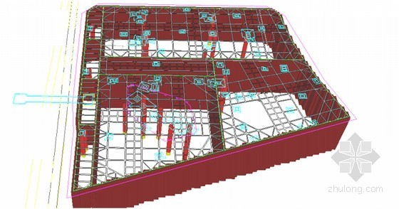 [上海]18米深基坑地下连续墙加三道支撑支护施工组织设计(新技术应用紧邻地铁)